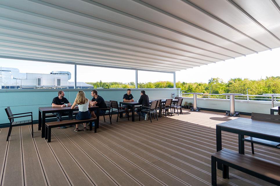 dopa roof terrace